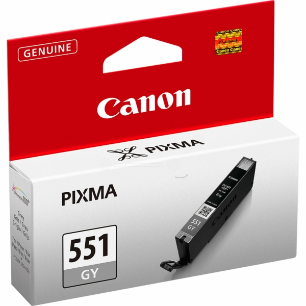 Canon 6512B001 (CLI-551 GY) Ink cartridge gray, 125 pages, 7ml