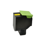 V7 Toner for selected Lexmark printers - Replacement for OEM cartridge part number 70C2HY0 V7-CS410Y-HY-OV7