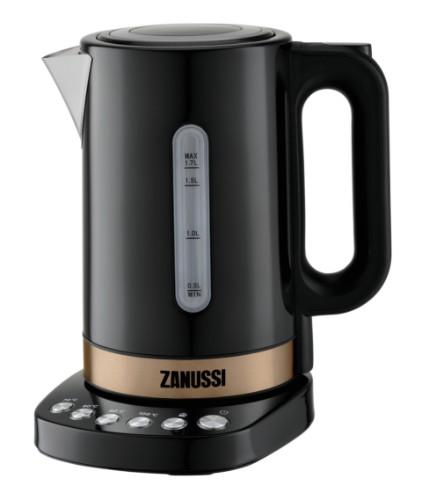 Zanussi ZEK-1290D-BK electric kettle 1.7 L 3000 W Black