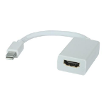 8WARE Mini DisplayPort DP to HDMI Cable 20cm - 20 pins Male to Female 1080P Adapter Converter for Macbook