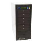 Microboards Technology QuicDisc DVD; 5 x DVD?RW (22x); 1 to 5 Stand-Alone Disc Duplicator; from Hypertec