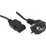 Hypertec 808033-HY power cable Black 10 m C13 coupler CEE7/7