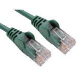 Cables Direct 0.5m Economy 10/100 Networking Cable - Green