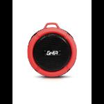 Ghia SPK-1449 Mono portable speaker 3W Negro, Rojo dir