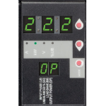Tripp Lite PDU3XMV6G32 3-Phase Metered PDU, 23kW, 42 208-240V outlets (36 C13, 6 C19), IEC309 32A Red (3P+N+E) 360-415V Input, 0u vertical, TAA