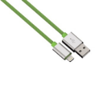 Hama 1m, USB 2.0-A - Lightning Green
