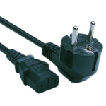 Cisco CAB-9K10A-EU= 2.4m Power plug type F C15 coupler Black power cable