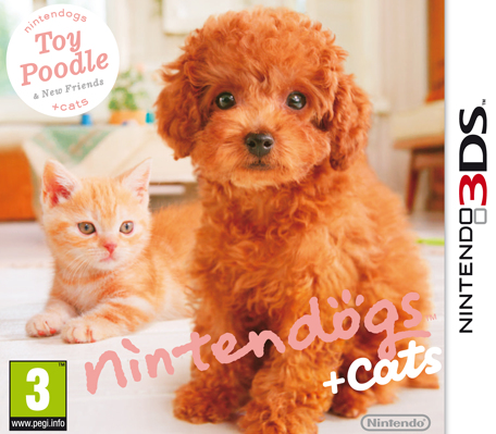 Nintendo nintendogs + cats: Toy Poodle & New Friends(Selects), 3DS