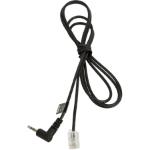 Jabra 8800-00-75 telephone cable 1 m Black