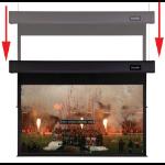 Sapphire SSM200RADV Smart Move - 203cm x 152cm - 4:3 Dual motor Projection Screen
