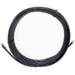 Cisco 22.5m LL LMR 240 coaxial cable 23 m TNC Male TNC Female Black