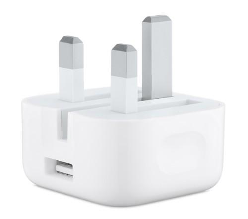 Apple MGRL2B/A power plug adapter Type G (UK) White
