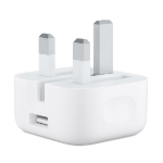 Apple MGRL2B/A power plug adapter Type G (UK) White