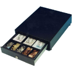International Cash Drawer HP-102 Black cash tray