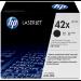 HP 42X Original Negro 1 pieza(s)