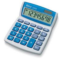 Ibico 208X calculator Desktop Basic Blue, White