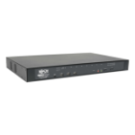 Tripp Lite 8-Port Cat5 KVM over IP Switch with Virtual Media - 1 Local & 1 Remote User, 1U Rack-Mount
