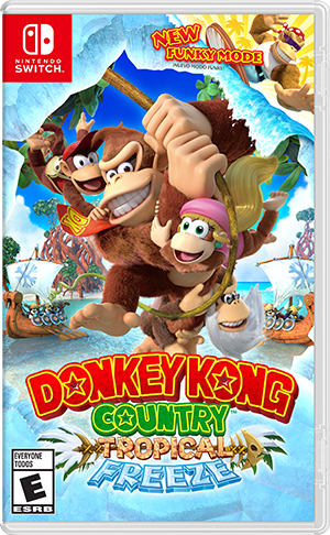 Nintendo Donkey Kong Country: Tropical Freeze, Swith video game Nintendo Switch Basic