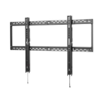 Peerless SF680P flat panel wall mount Black
