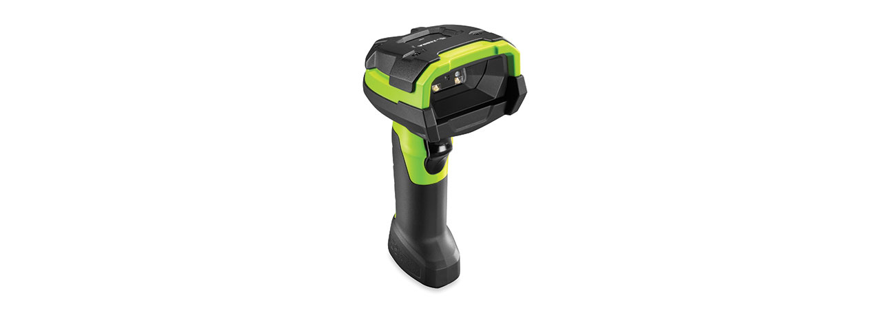 Zebra DS3608-HP Handheld 1D/2D Black,Green