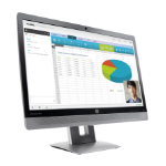 "HP EliteDisplay E240c 60,45 cm (23.8"") Video Conferencing Monitor"