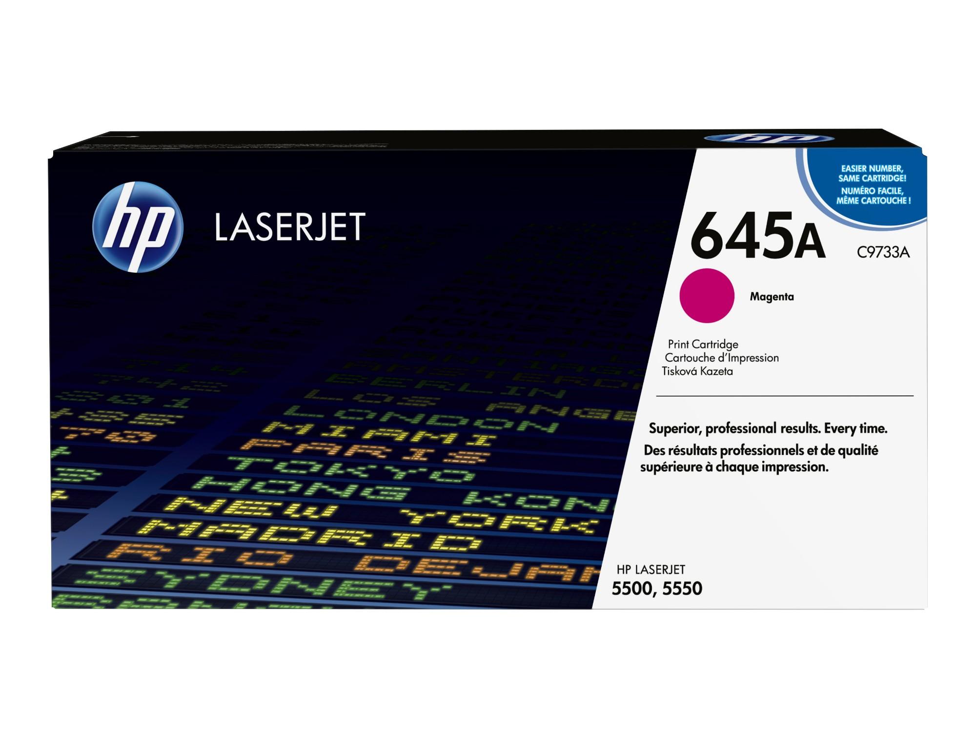 HP 645A Origineel Magenta 1 stuk(s)