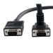 StarTech.com 10 ft Coax High Resolution 90deg; Down Angled VGA Monitor Cable - HD15 M/M