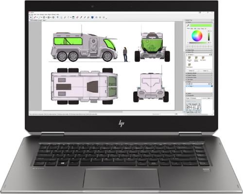 "HP ZBook Studio x360 G5 Silver Hybrid (2-in-1) 39.6 cm (15.6"") 3840 x 2160 pixels Touchscreen 2.60 GHz 8th gen Intel® Core™ i7 i7-8850H"