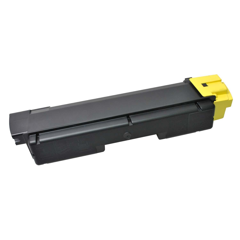V7 Láser de tóner para ciertas impresoras Kyocera TK-580Y