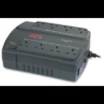 APC Back-UPS 400, UK Standby (Offline) 0.4 kVA 240 W 8 AC outlet(s)