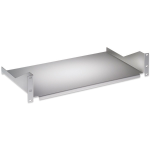 "Intellinet 19"" Cantilever Shelf, 2U, Fixed, Depth 400mm, Grey 710909"