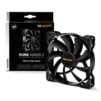 be quiet! Pure Wings 2 120mm high-speed Computer case Fan
