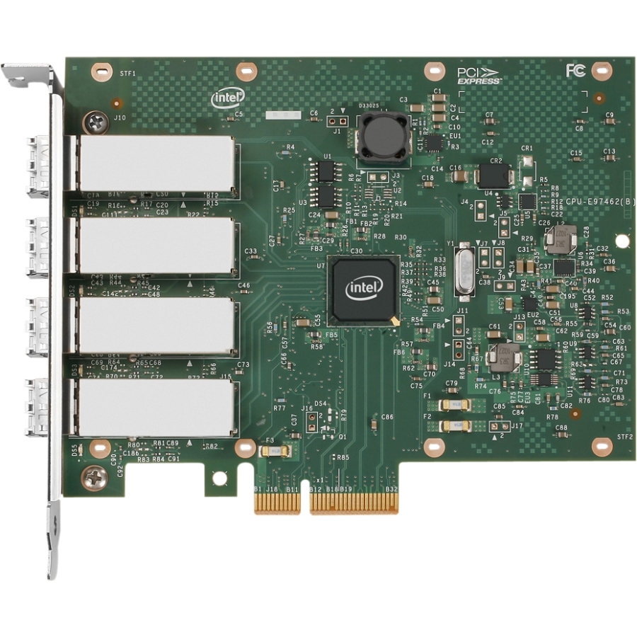 Intel I350F4BLK adaptador y tarjeta de red Ethernet 1000 Mbit/s Interno