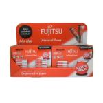Fujitsu Universal Power Alkaline 9 x AA 8 Pack and 6 x AAA 8 Pack Batteries in Counter Top Display Unit