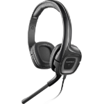 Plantronics Audio 355 2.5 mm + 3.5 mm Binaural Head-band Black headset