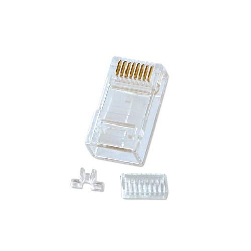 Lindy 60406 wire connector RJ-45 Cat5e Transparent