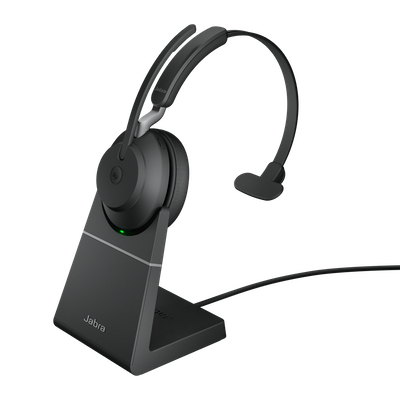 Jabra Evolve2 65, MS Mono Headset Head-band Black
