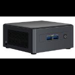 Intel NUC 11 Pro UCFF Black i7-1165G7