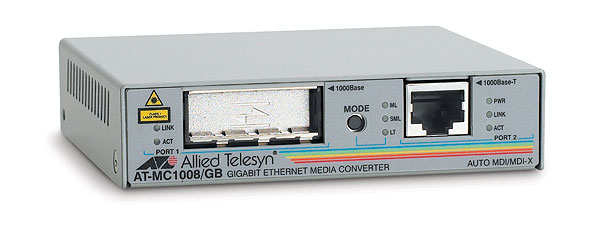 Allied Telesis AT-MC1008/GB 1000Mbit/s network media converter
