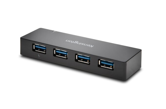 Kensington UH4000C USB 3.0 4-Port Hub & Charger