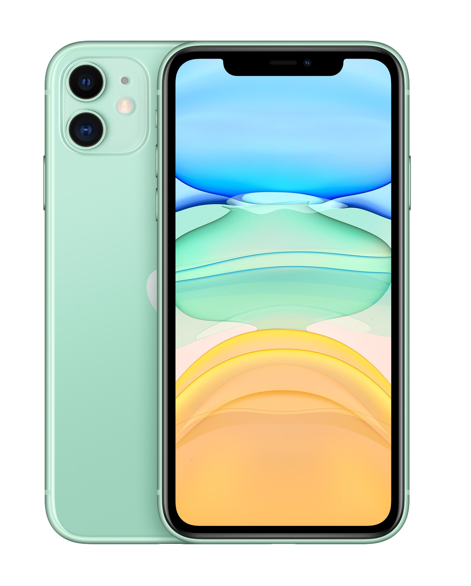 "Apple iPhone 11 15.5 cm (6.1"") 128 GB Dual SIM Green"