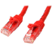 StarTech.com Cat6 Patch Cable with Snagless RJ45 Connectors - 10 m, Red