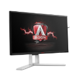 "AOC AGON AG241QG 23.8"" Wide Quad HD TN Black, Red Flat computer monitor"