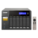 QNAP TS-653A NAS Tower Ethernet LAN Black