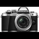 "Olympus OM-D E-M10 Mark II + M.ZUIKO DIGITAL ED 14-42mm F3.5-5.6 EZ MILC 16.1 MP 4/3"" Live MOS 4608 x 3456 pixels Silver"