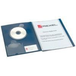 Rexel Clearview A4 Display Book 24-Pocket Blue