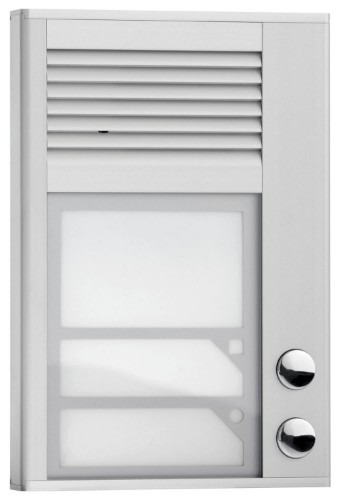Interquartz ID202 audio intercom system Silver