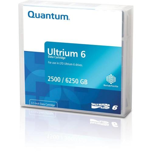 Quantum Ultrium 6 Bar Code Labeled LTO 2500 GB 1.27 cm