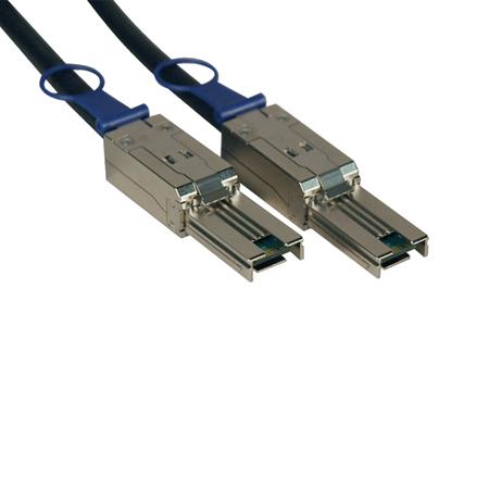 Tripp Lite External SAS Cable, 4 Lane - mini-SAS (SFF-8088) to mini-SAS (SFF-8088), 1M