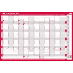 Sasco 2410131 wall planner Pink,White 2021